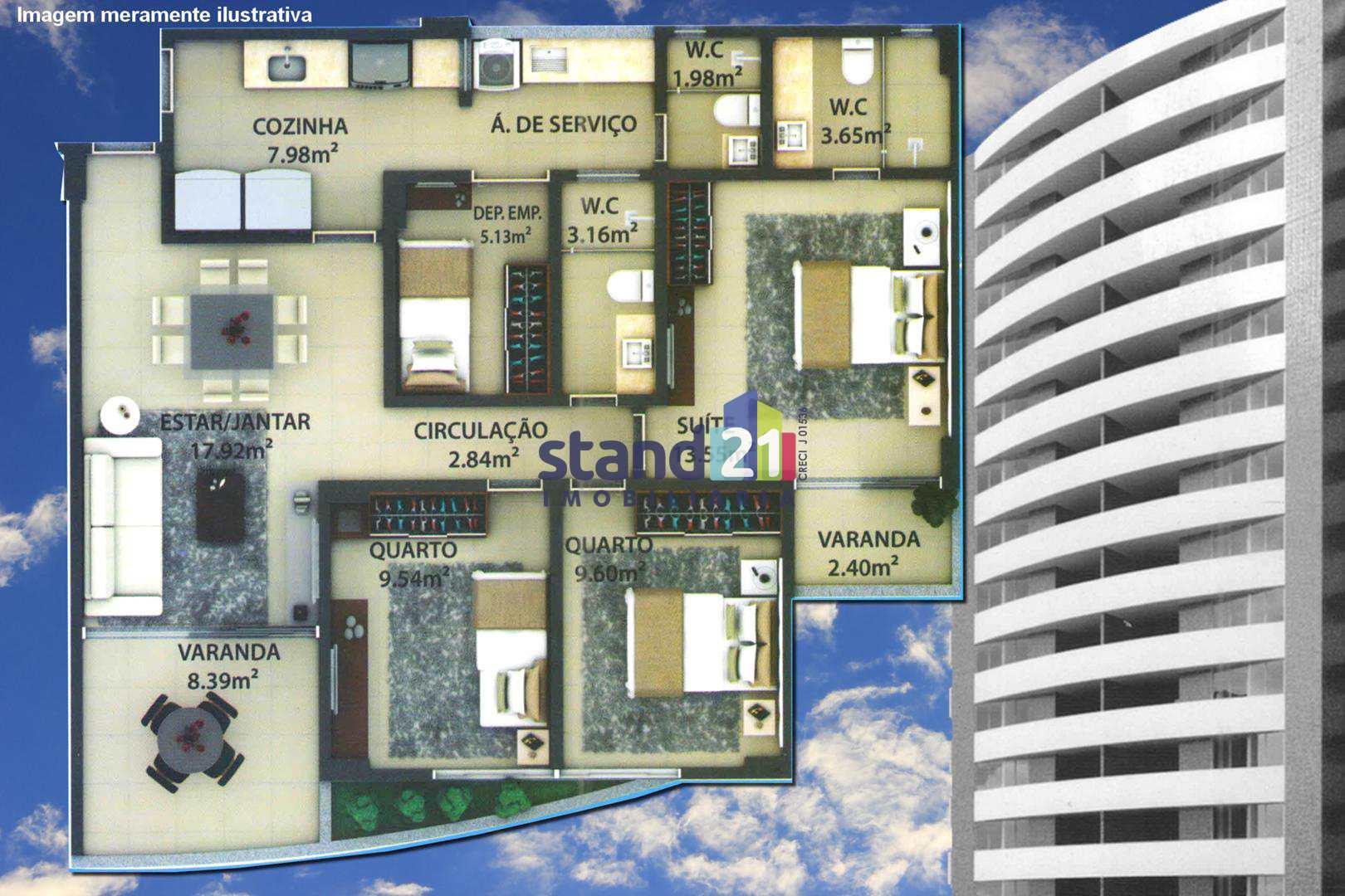 Apartamento com 3 dorms, Pontalzinho, Itabuna - R$ 400 mil, Cod: 329