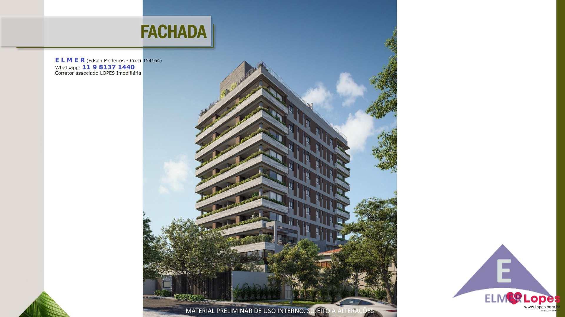Apartamento em São Paulo, bairro Cidade Monções