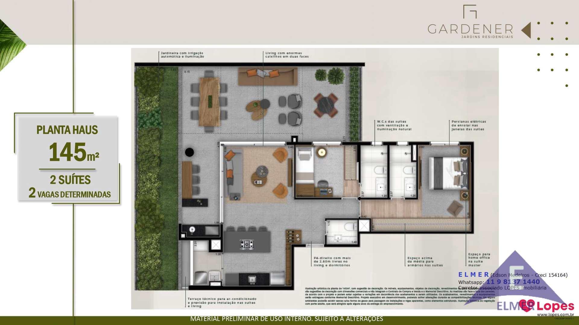Planta HAUS 145 m² - GARDENER - Elmer