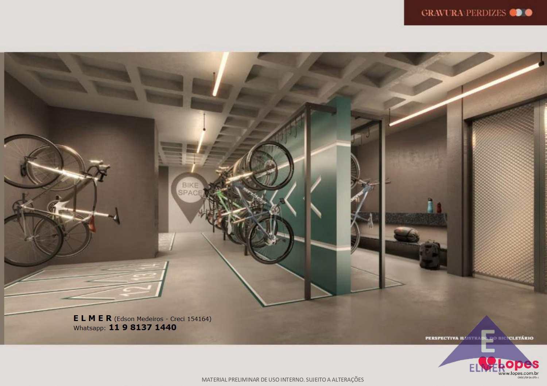 Bicicletario - Gravura Perdizes - Elmer