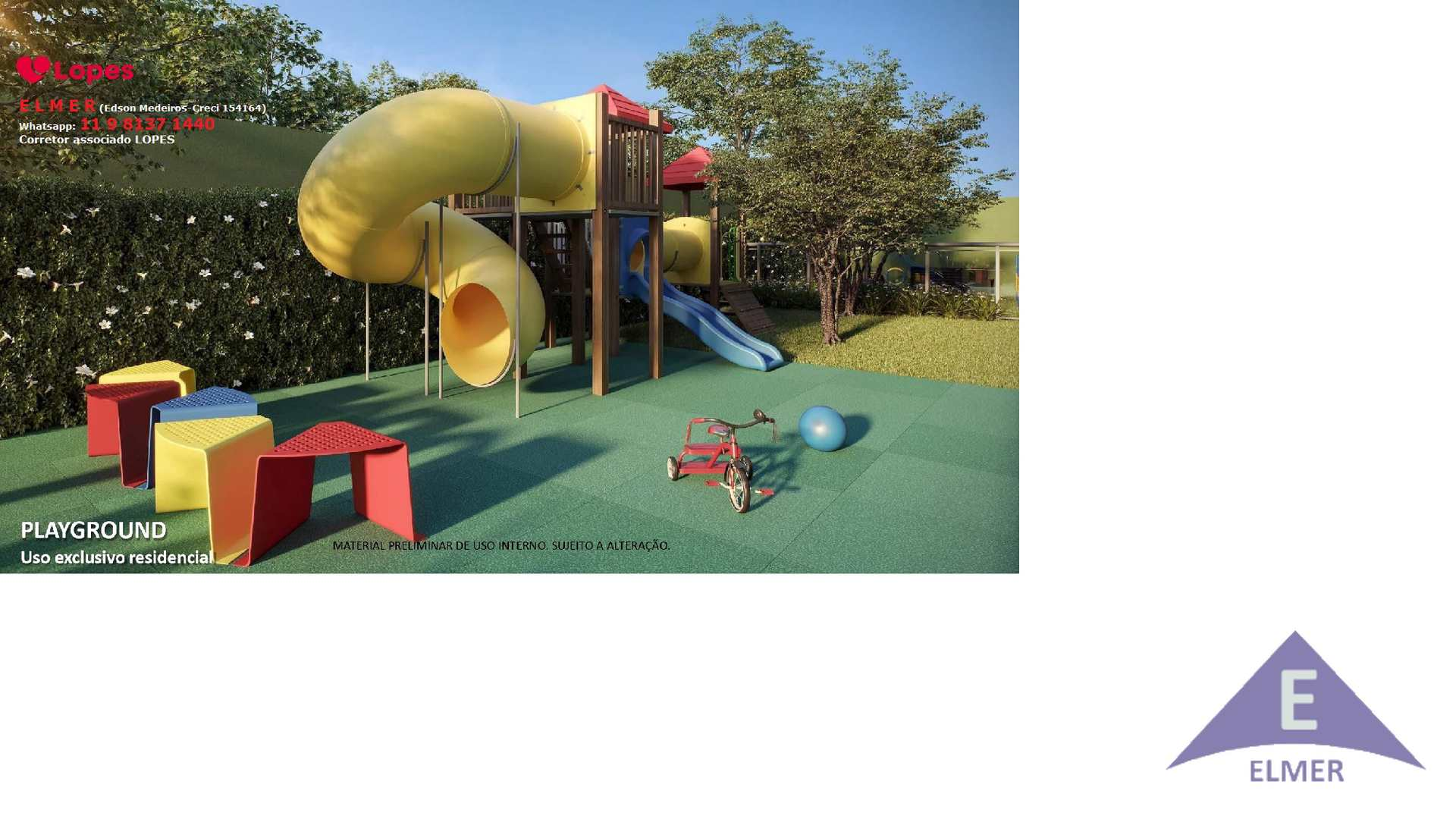 8 - Playground - Haus Mitre -Campo-Belo - Elmer