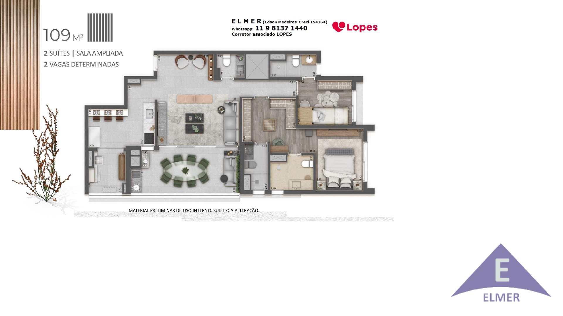 15 - Planta 109m² - Haus Mitre -Campo-Belo - ...