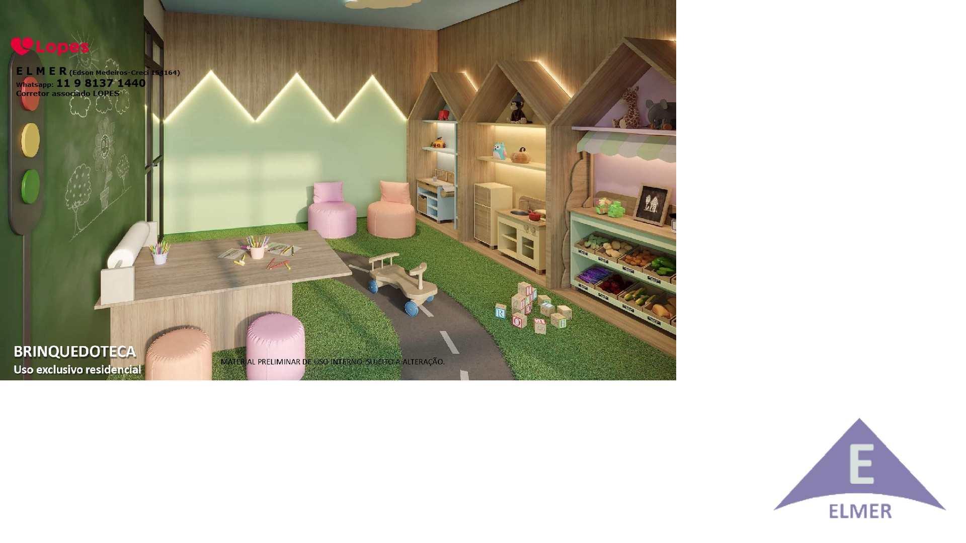 7 - Brinquedoteca - Haus Mitre -Campo-Belo - Elmer