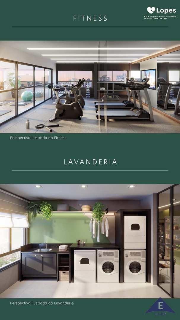 Fitness - Lavanderia - Florear Studios - Elmer