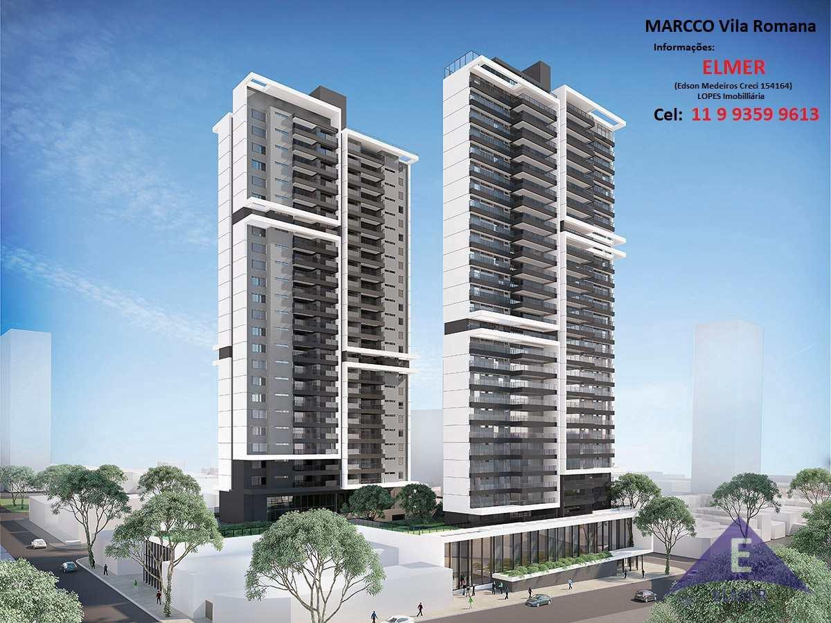MARCCO Vila Romana - Apartamentos de 184 m² - 4 Suítes - 3 Vagas - Lazer entregue e equipado