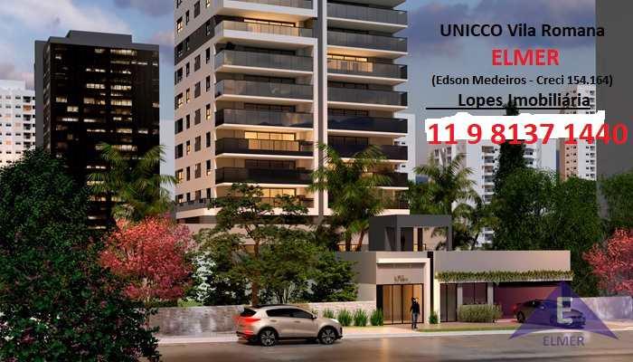 UNICCO Vila Romana - Apartamentos de 151,17 m² - 3 suítes - 2 vagas - Lazer entregue equipado e decorado