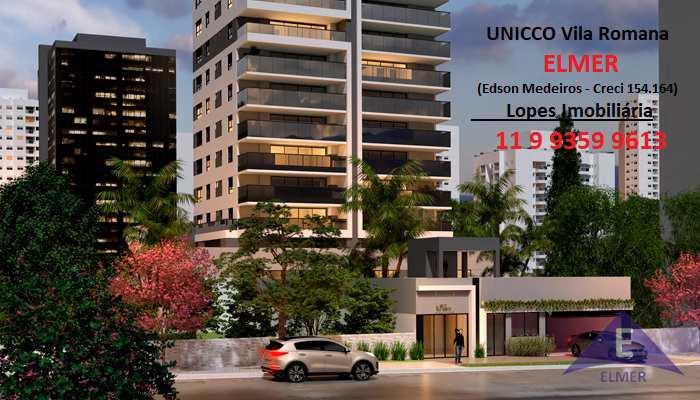 UNICCO Vila Romana-Aptos 151,17 m² - 3 suítes - 2 vagas-Lazer