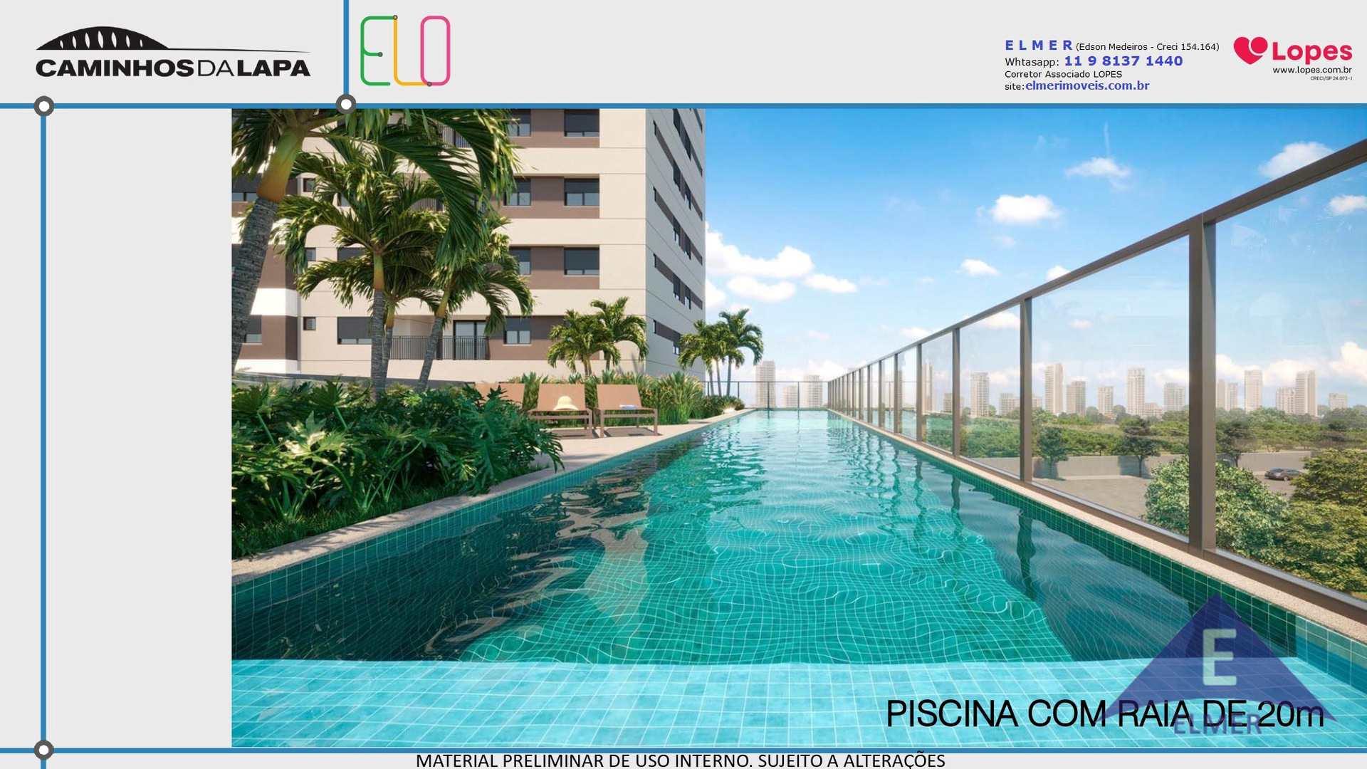 ELO CAMINHOS DA LAPA - APTO 47 m² - 2 dormitórios, Cod: 314