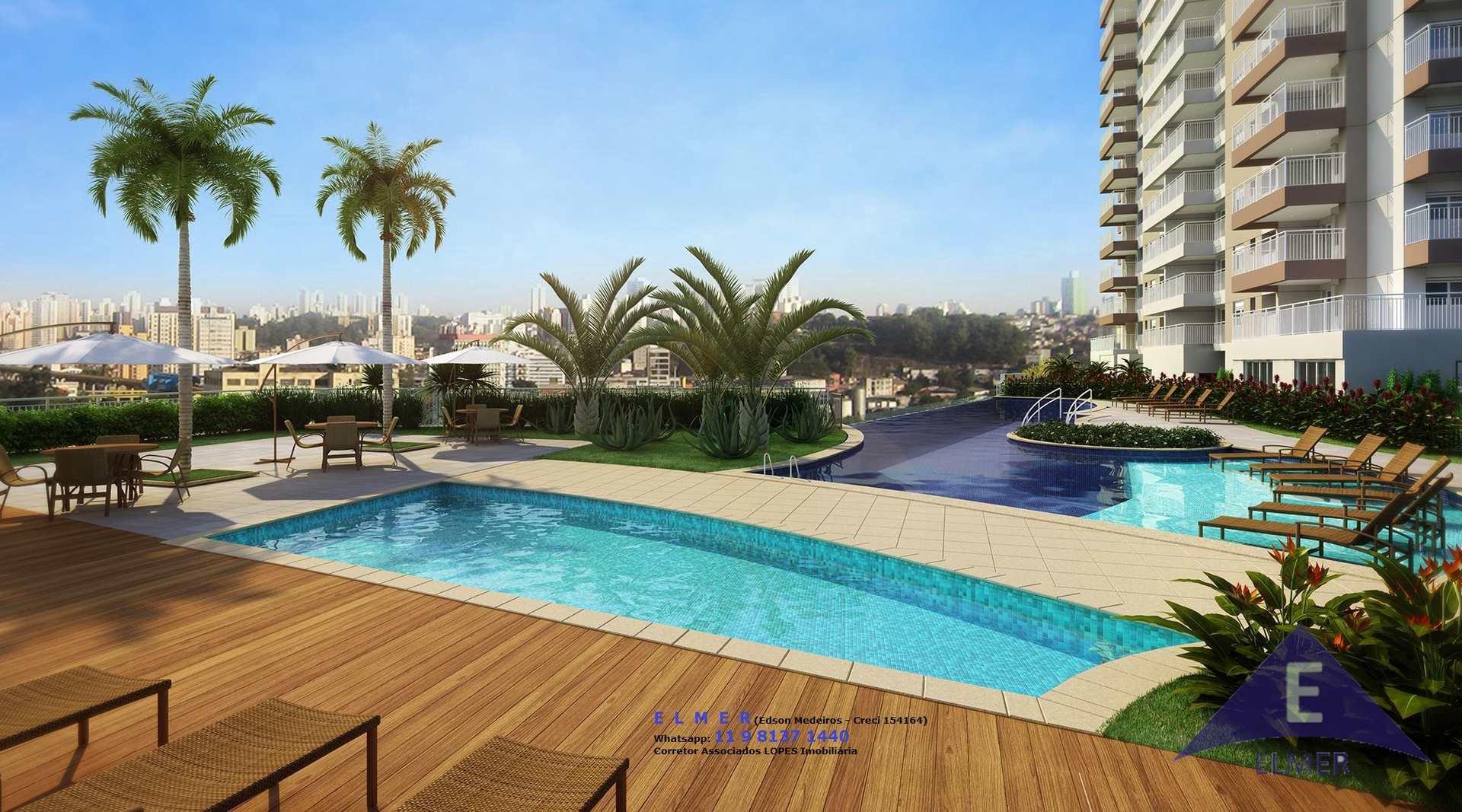 HOME CLUBE - Vila Anastácio-Lapa-Apto 79 m² - 3 Dorm, Cod: 334