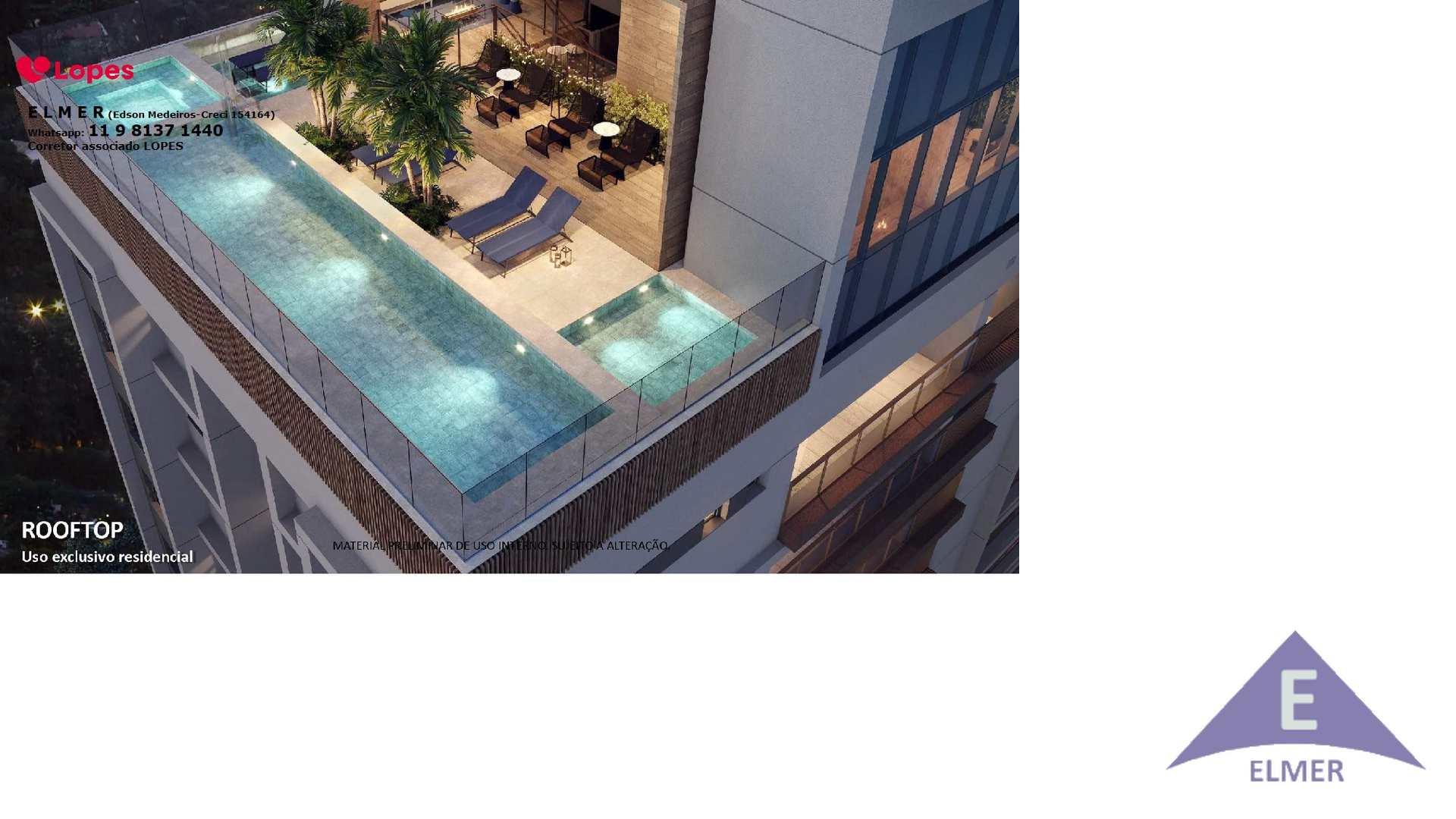 HAUS MITRE Campo Belo - 109 m² - 3 suítes,  SP, Cod: 363