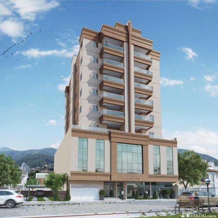 Apartamento 2 Suites, 2 Vagas, Meia Praia, 89,5m2 privativos, sacada com churrasqueira, salão de festas, salão de jogos, espaço fitness, espaço kids