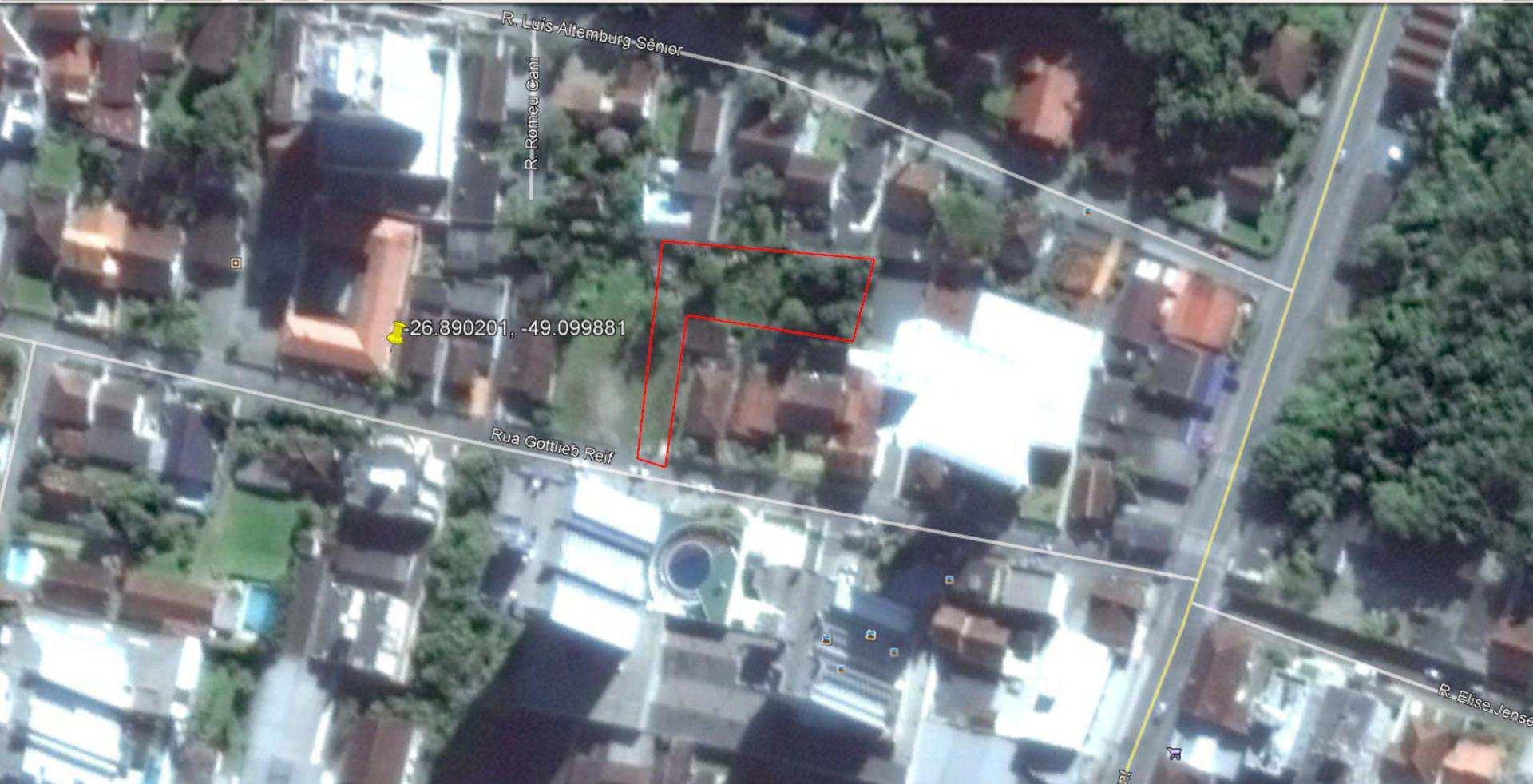Terreno Rua Gotlieb Reif, 120