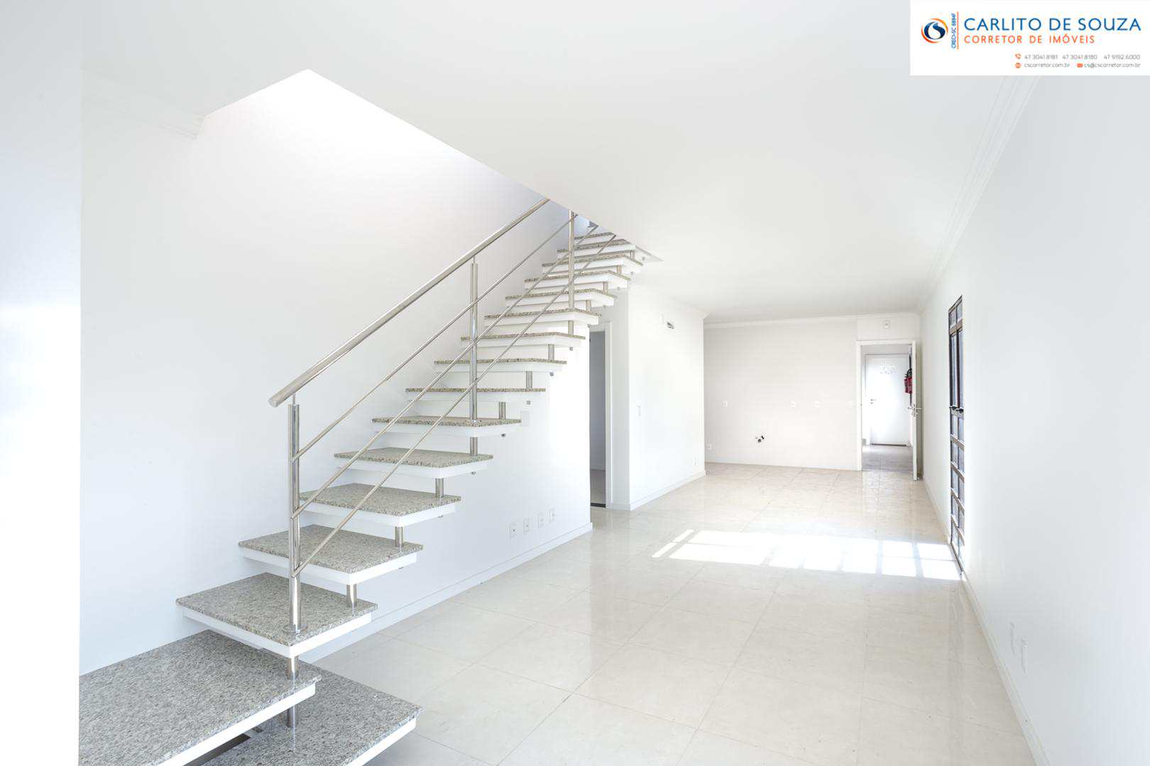 Cobertura com 3 dorm (1 suite), Garcia, Blumenau, Cod: 35
