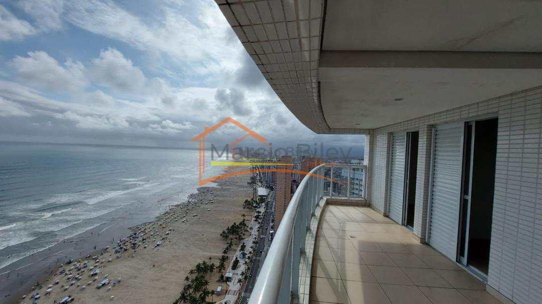 Apto 3 dormitórios, no coração de Praia Grande, linda vista para o mar!