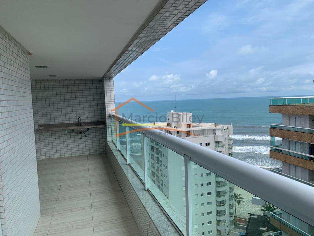 Apto 3 dormitórios, com vista lateral para o Mar!