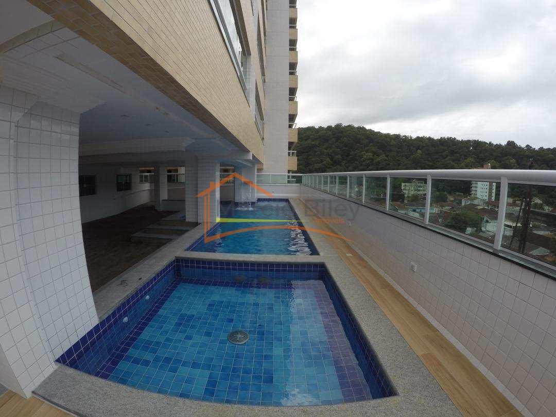 Apto 2 dormitórios, sendo um suíte, no Canto do Forte, R$350.000,00