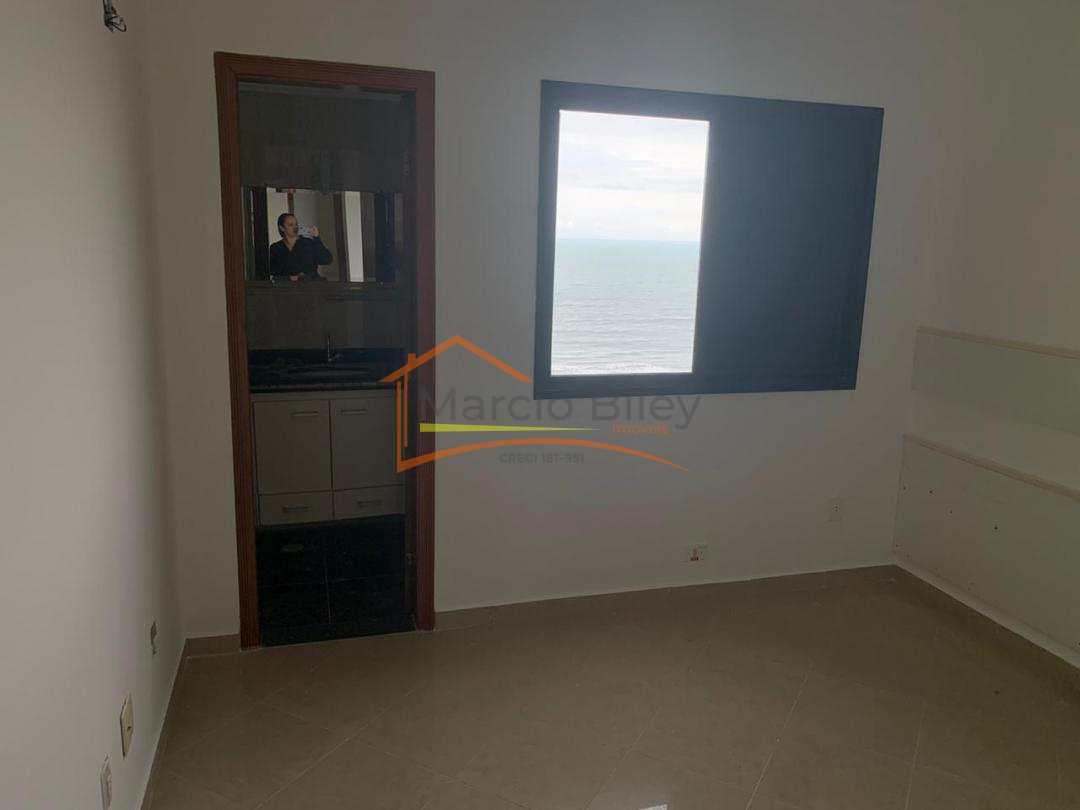 Apt 3 dormitórios sendo um suíte com ampla vista para o mar na Guilhermina!