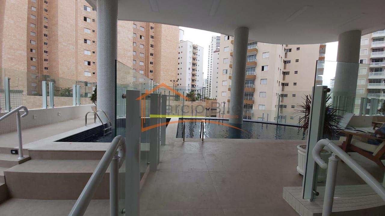 Apt 2 dormitórios, sendo 1 suíte, 2 vaga privativa, vista para o mar!