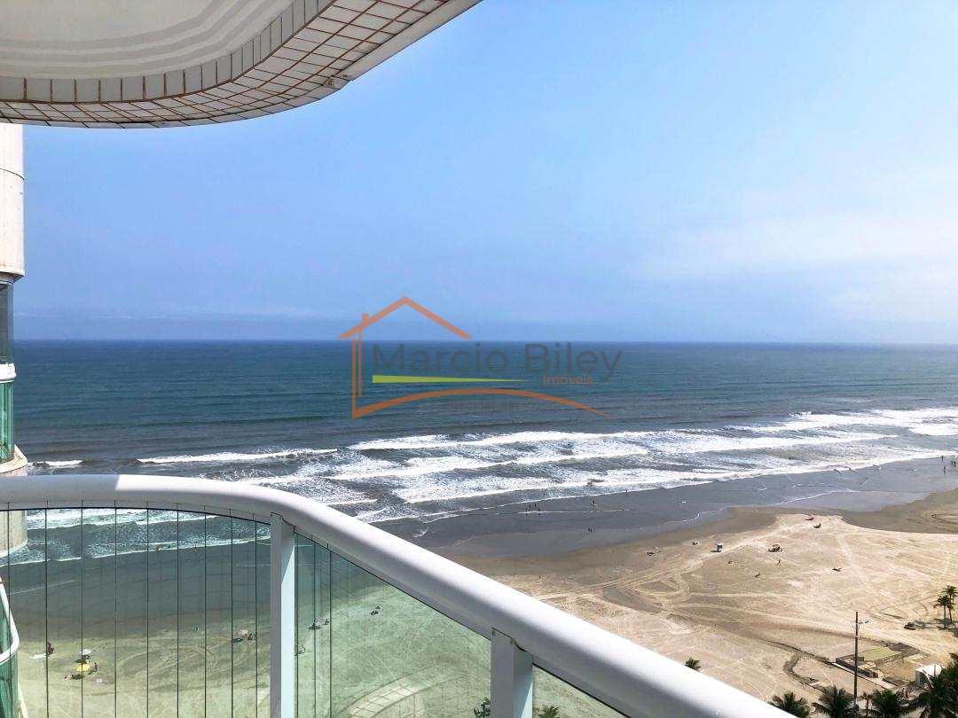 Apartamento bela  vista pro mar , andar alto.
