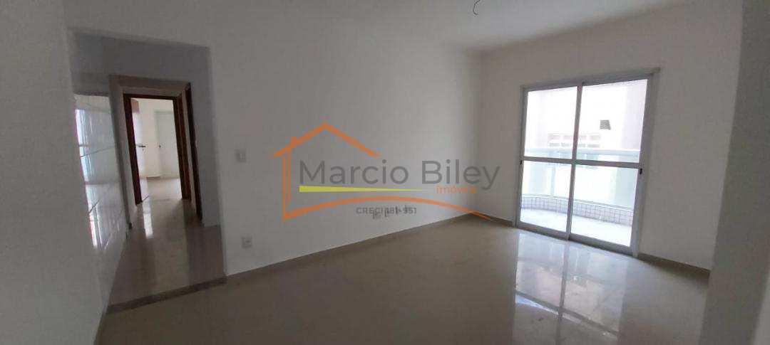 Apartamento 2 dormitório mobiliado prédio frente mar alto padrão 297mil