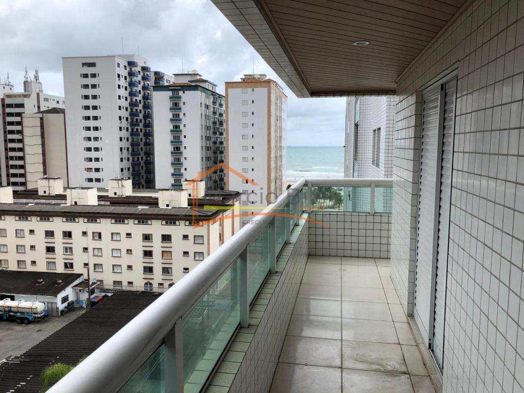 Lindo apartamento de 3 dormitórios com 1 suíte e vista para o mar