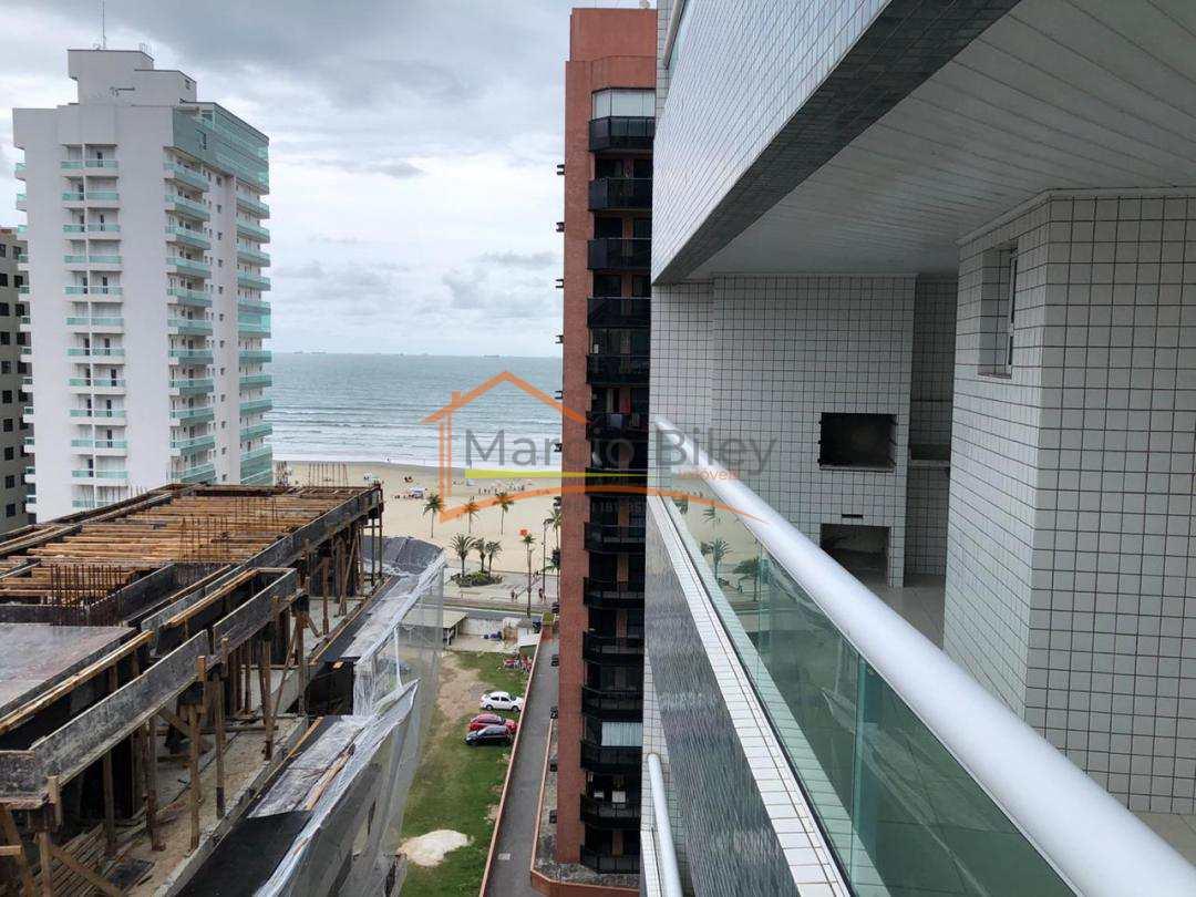 Apartamento de 2 dormitórios com 1 suíte, linda vista para o mar