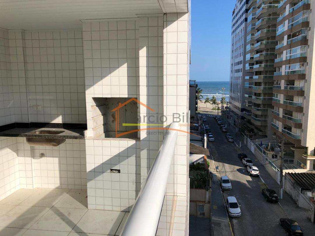 Lindo apartamento de 2 dormitórios sendo 1 suíte, vista lateral para o mar