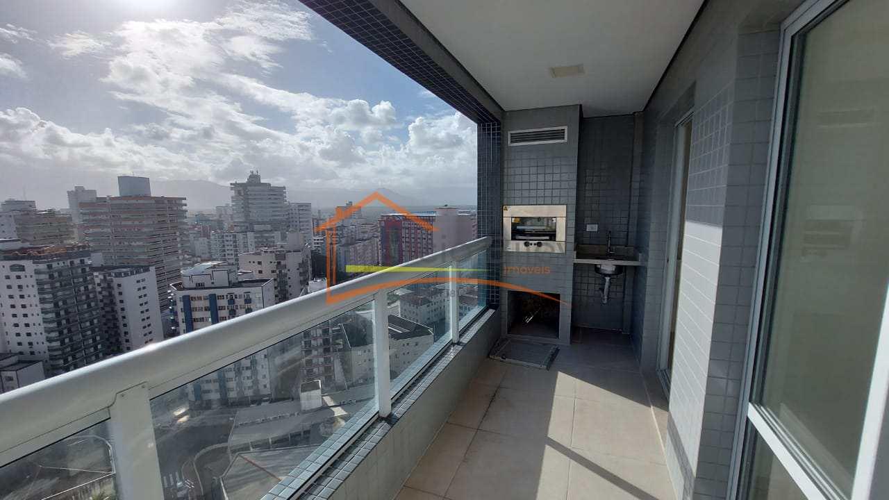 Apartamento 2 dormitório 1 suite 2 vagas  de garagem vista mar 465 mil