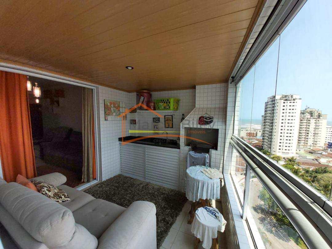 Apartamento dois dormitório mobiliado uma quadra da praia  380 mil