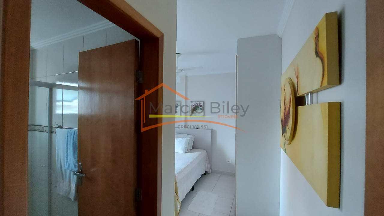 Apartamento com 1 dorm, Guilhermina, Praia Grande - R$ 380 mil, Cod: 655