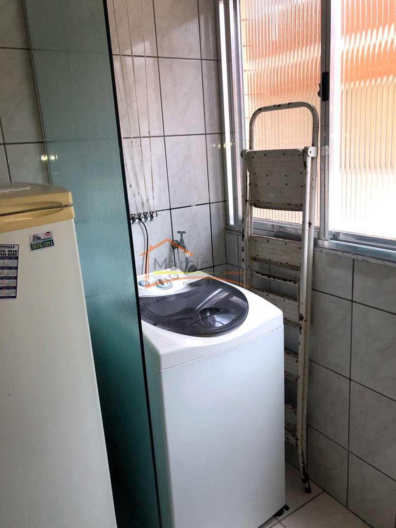Apartamento com 2 dorms, Guilhermina, Praia Grande - R$ 220 mil, Cod: 700