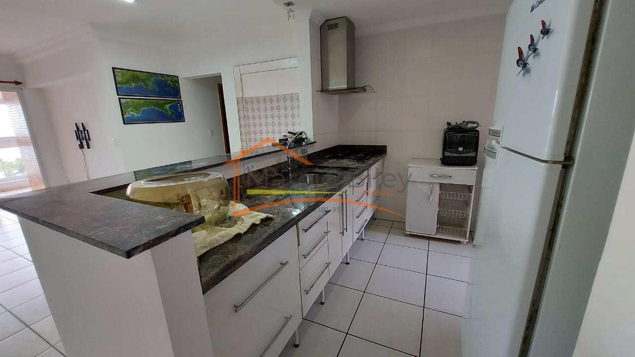 Apartamento com 2 dorms, Guilhermina, Praia Grande - R$ 580 mil, Cod: 706