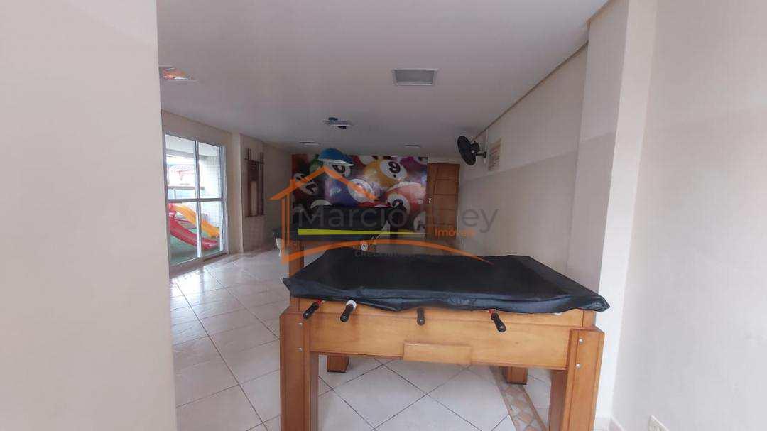 Apartamento com 2 dorms, Aviação, Praia Grande - R$ 395 mil, Cod: 783