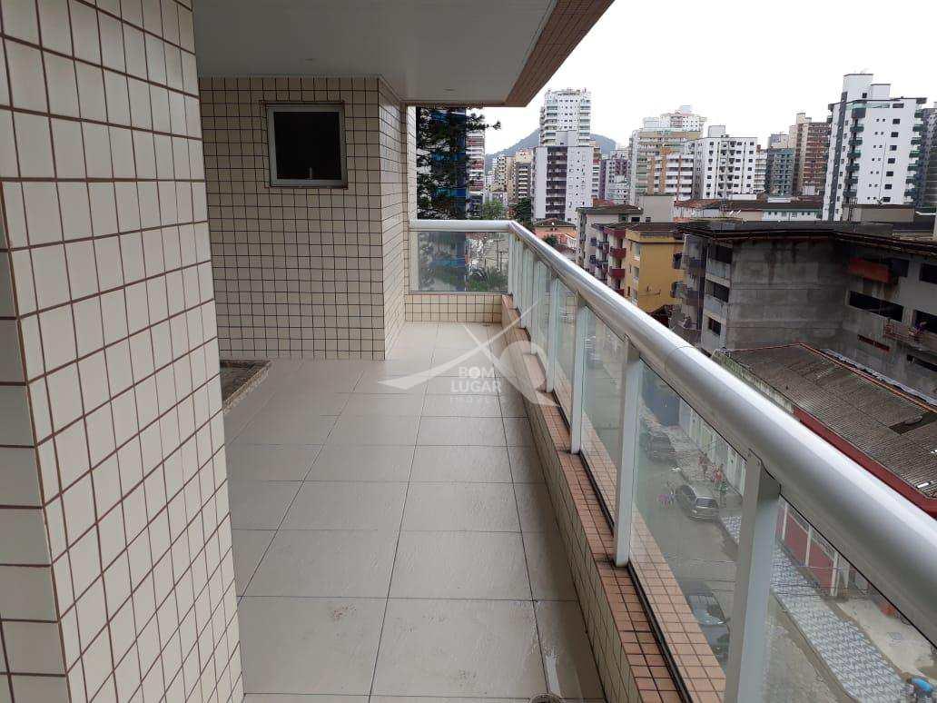 Apartamento com 3 dorms, Guilhermina, Praia Grande - R$ 680 mil, Cod: 2697
