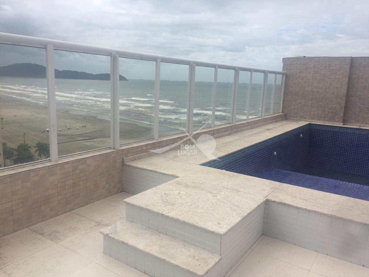 Apartamento novo 1 dorm c suite frente mar