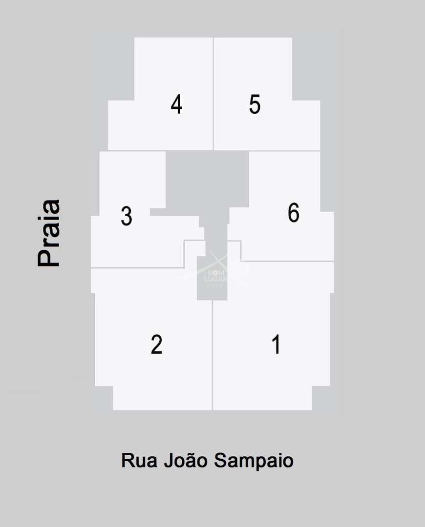 Apartamento com 3 dorms, Guilhermina, Praia Grande - R$ 511 mil, Cod: 3971
