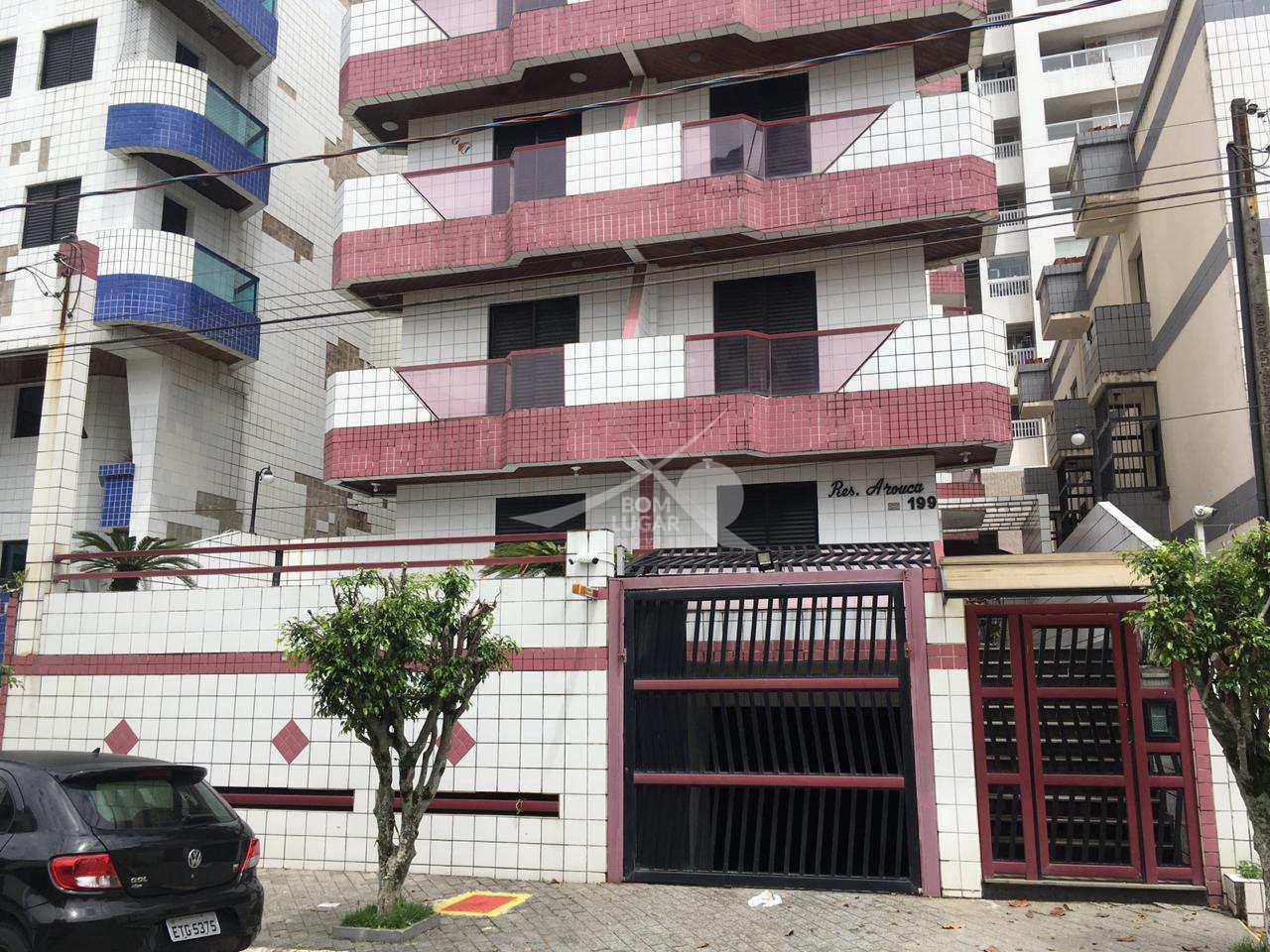 Apartamento com 1 dorm, Ocian, Praia Grande - R$ 175 mil, Cod: 4392