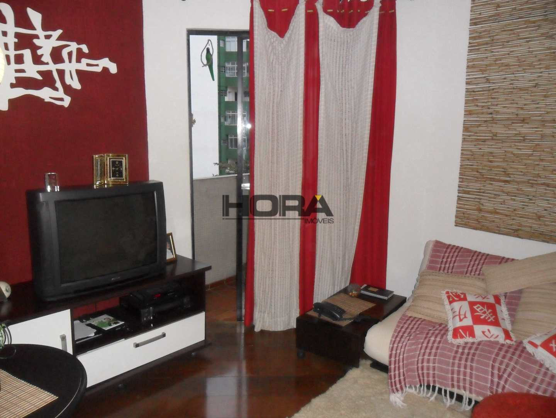 Apartamento com 1 dorm, José Menino, Santos - R$ 300 mil, Cod: 259