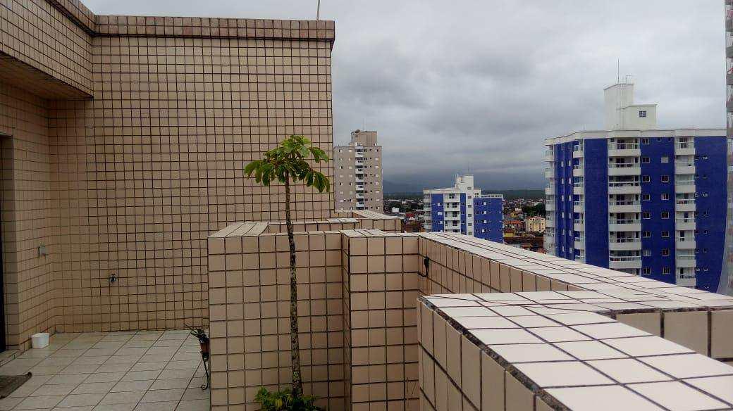 Cobertura com 2 dorms, Aviação, Praia Grande - R$ 350 mil, Cod: 5815