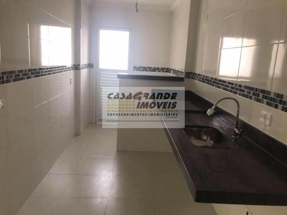 Apartamento com 1 dorm, Caiçara, Praia Grande - R$ 180 mil, Cod: 6111