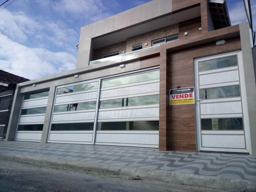 Casa de Condomínio com 2 dorms, Maracanã, Praia Grande - R$ 220 mil, Cod: 6289