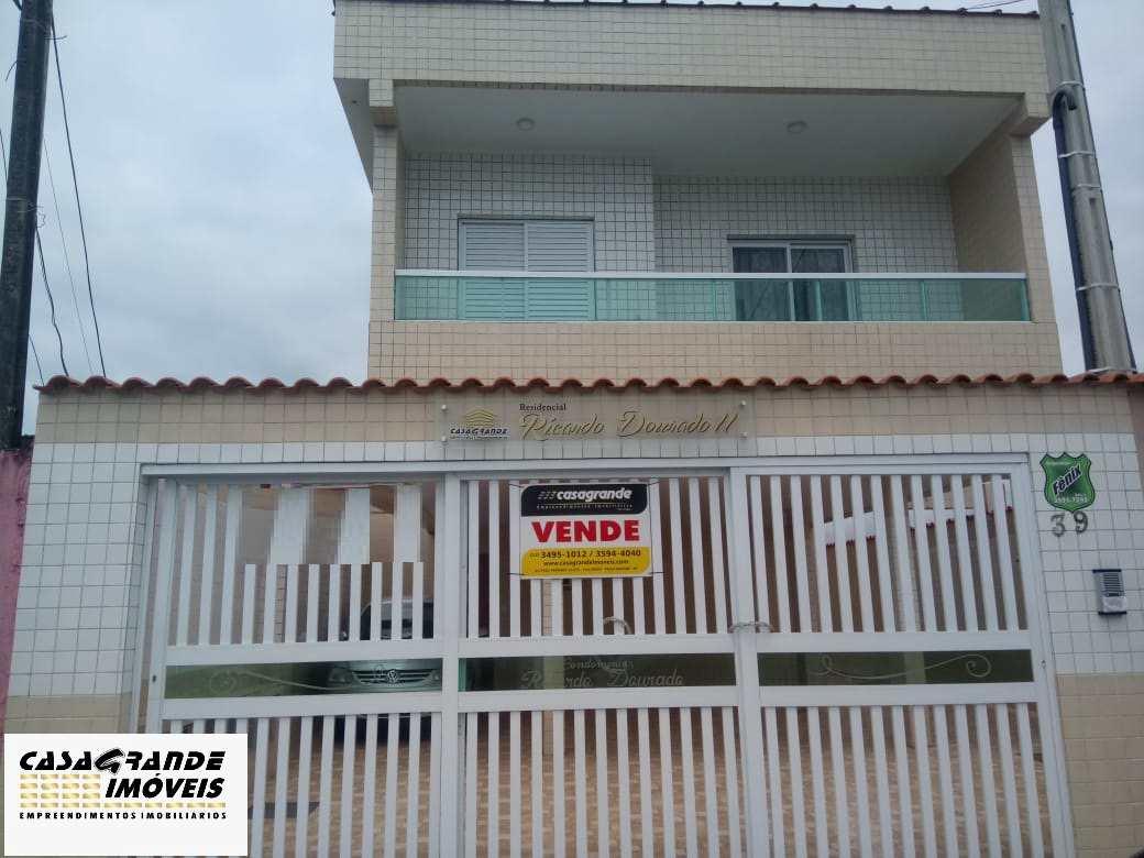 Casa de Condomínio com 2 dorms, Caiçara, Praia Grande - R$ 190 mil, Cod: 6300