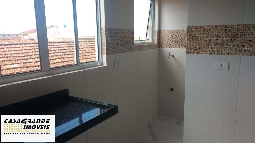 Casa de Condomínio com 2 dorms, Caiçara, Praia Grande - R$ 220 mil, Cod: 6307