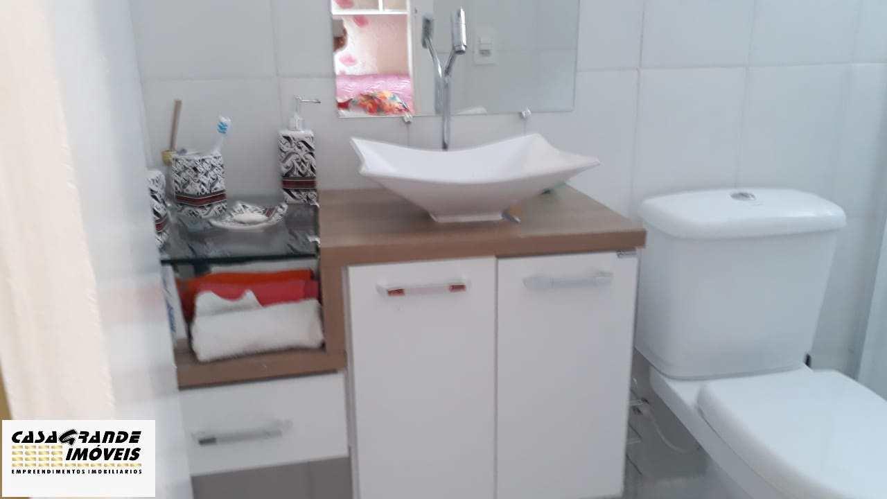 Apartamento com 2 dorms, Canto do Forte, Praia Grande - R$ 350 mil, Cod: 6312