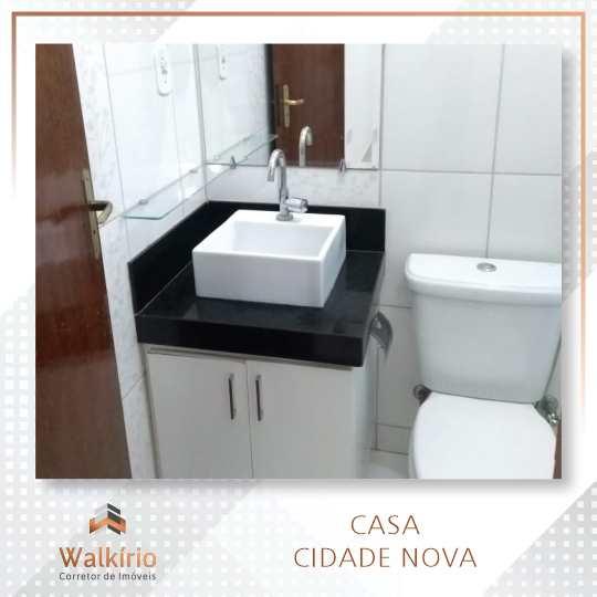 Casa com 3 dorms, Cidade Nova, Governador Valadares - R$ 270 mil, Cod: 340
