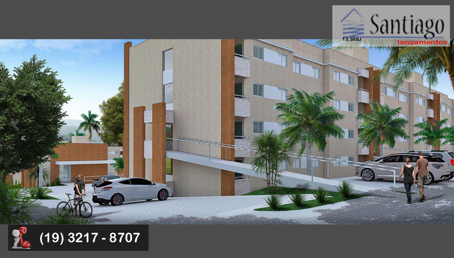 Apartamento em Sumaré, bairro Parque da Amizade (Nova Veneza)