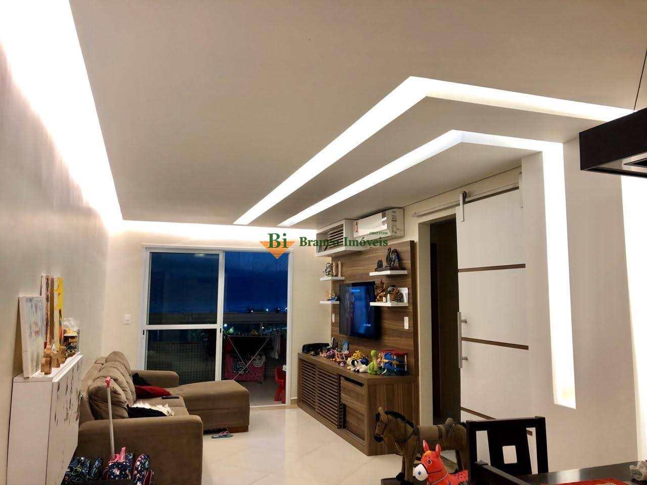 Apartamento com 3 dorms, Caiçara, Praia Grande - R$ 850 mil, Cod: 762