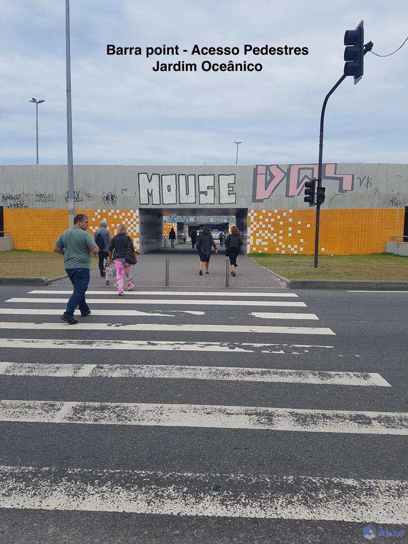 Barra_Point_Acesso_Pedestres_Jardim_Oceânico