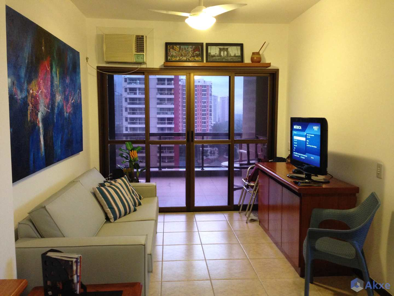 Apartamento com 1 dorm, Barra da Tijuca, Rio de Janeiro - R$ 590 mil, Cod: 52