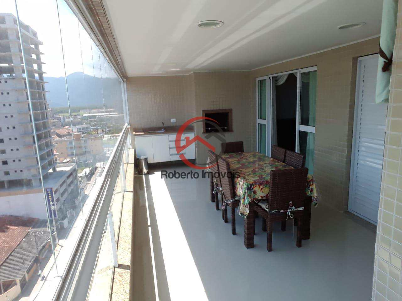 Apartamento com 5 dorms, Caiçara, Praia Grande - R$ 1.1 mi, Cod: 111